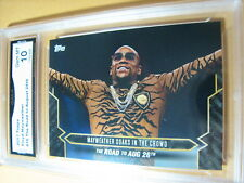 FLOYD MAYWEATHER 2017 TOPPS NOW ROAD TO AUG. 26 # 16 GRADED 10  L@@@K