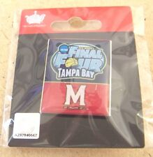 2015 NCAA Women's Final Four Tampa Bay pin Maryland Terrapins