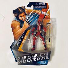 "2009 Marvel X-Men Origins Wolverine 3.75"" Deadpool Action Figure By Hasbro"
