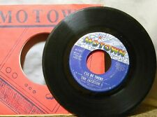 THE JACKSON 5 I'LL BE THERE / ONE MORE CHANCE 45 RPM RECORD