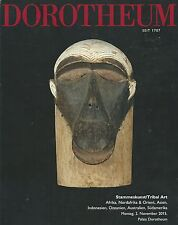 DOROTHEUM AFRICAN OCEANIC ISLAMIC INDONESIA JAVA MASK JEWELS ART Catalog 2015