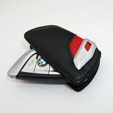 Genuine BMW Contrast Key Case; Red Leather  80232336959