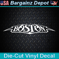 .. Vinyl Decal .. BOSTON band ..   Laptop Car Sticker Decal Awesome Design