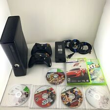 Xbox 360 S 250 GB Console Glossy 7 Game Bundle 2 Wireless Controllers Tested
