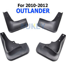 FIT FOR 2010 2011 2012 MITSUBISHI OUTLANDER MUD FLAP FLAPS SPLASH GUARDS