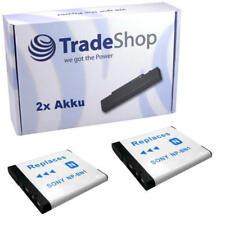 2x AKKU für Sony Cybershot DSC-TX-100V DSC-T-110 NP-BN1
