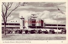 Rppc - La Guardia Airport, Administration Building, New York City Circa 1940