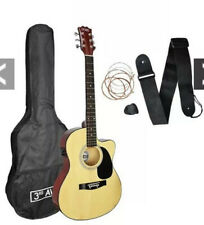 3rd Avenue Cutaway Electro Acoustic Guitar Pack With Free Online Music Lessons