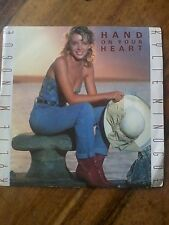 """KYLIE MINOGUE-HAND ON YOUR HEART 7"""" VINYL SINGLE"""