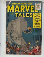 "Marvel Tales 149 F+ (6.5) 8/56 Atlas! ""The Last Warning!"" ""The Broken Man!"""