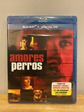 Amores Perros (Blu-ray + Digital, 2017) Factory Sealed with Free Shipping!