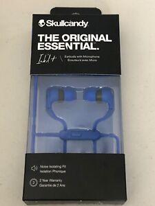 Skullcandy Ink'd+ Wired Earbuds with Mic 3.5mm Jack Cobalt Blue