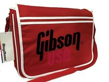 Gibson USA Messenger Bag, New Printed Ideal For Lap Top, Music, Strings Etc.