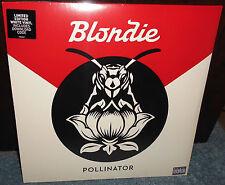 WHITE VINYL Blondie Pollinator LP Limited Debbie Harry Shepard Fairey NEW Rare