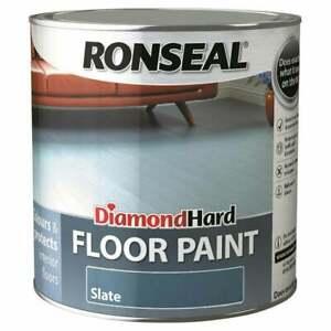 Ronseal Diamond Hard Floor Paint - Wood & Concrete Floors 750ml - 5L ALL Colours