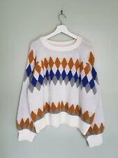 Lacoste Merino Wool Made In France Jumper Sweater Size L