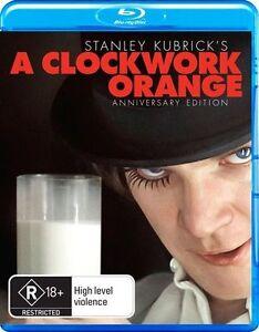 A Clockwork Orange Blu-ray (Pal, 2017) BRAND NEW & SEALED - FREE POST