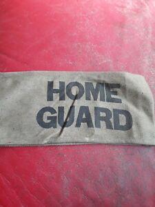 Genuine WW2 Home Guard Arm Band