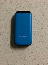 MaxWest MX-210TV (Dual Sim Unlocked For Any GSM Carrier) blue  , no return