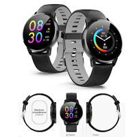 Black Wrist Smart Watch Bluetooth 4.0 IP67 Heart Rate Monitor Pedometer Oxygen