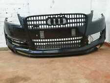 AUDI Q7 4L COMPLETE FONT BUMPER WITH GRILL & PARKING SENSORS IN BLACK