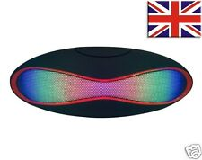 BLUETOOTH WIRELESS PORTABLE SPEAKER WITH LED LIGHTS FOR IPHONE/IPAD/IPOD/SAMSUNG