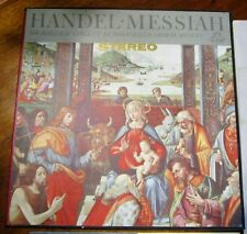 Handel Messiah~Sir Malcolm Sargent - Huddersfield Choral Society~Angel 3LPs Box
