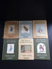Beatrix Potter Vintage Books Bundle 'tale of peter rabbit' F. Warne & Co &  more