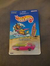 Hot Wheels Van De Kamp's Fish-O-Saurs Limited Edition Pink Redline Deora 1997