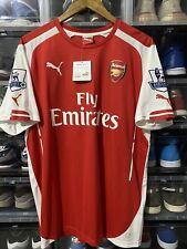 Puma Arsenal FC Jack Wilshere Home Jersey / Shirt 2014-2015 sz XL EPL