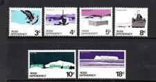 MINT 1972 NEW ZEALAND NZ ROSS DEPENDENCY PICTORIALS COMPLETE SET OF 6 MUH