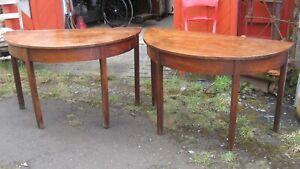Pair of Georgian Tables.