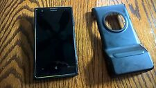 Nokia Lumia 1020 Phone unlocked great condition, PD-95G,GreatShield case.