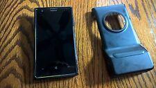Nokia Lumia 1020 Phone unlocked great condition, PD-95G,GreatShield case.
