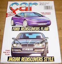 Car April 1992 - Ferrari F40 - Ford XR3i vs Golf GTi Sunny GTi Tipo 16v Virage