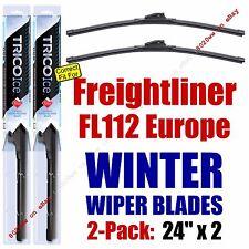 WINTER Wiper Blades 2pk fit 1996-1998 Freightliner FL112 Europe - 35240x2
