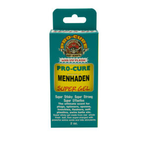Pro-Cure Super Gel 2oz Menhaden