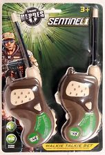 Walkie Talkie Set True Heroes Sentinel 1 Play Action 200FT RANGE MORSE CODE