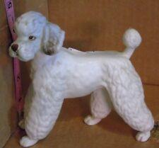Vintage Lefton White Poodle Figurine H7326