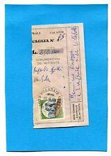 CASTELLI £.400 ISOLATO su RICEVUTA VAGLIA (701618)