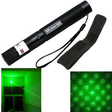 10 Miles Military 303 Green 1mW 532NM Laser Pointer Pen Light Beam Burn +Holster