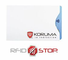 KORUMA RFID Blocking Sleeve helps to  Avoid Card Clash issue
