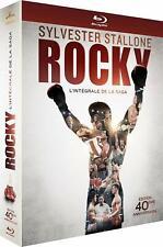 Coffret Rocky l'intégrale de la saga édition collector limitée 40 ans neuf