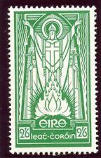 Ireland 1943 KGVI 2s 6d emerald-green MLH. SG 123.