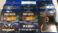 PINK FLOYD ROGER WATERS Blu-ray 8 Titles 9 Disc Case Set DESERT TRIP US+THEM F/S