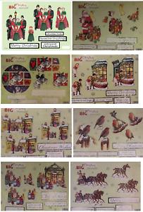 Craft UK A4 Big & Beautiful Die Cut Christmas Decoupage - various