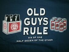 """New listing Old Guys Rule """" Six Of One Half Dozen Of The Other """" Bottle Can Beer S/S L"""