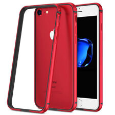 Hybrid Aluminum Metal Rugged Silicone Bumper Case Cover for iPhone XS Max XR XS
