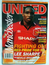 MINT Vol 3 No 1 Manchester United Official Magazine January 1995