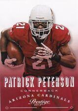 PATRICK PETERSON 2013 PANINI PRESTIGE FOOTBALL cartes à collectionner, #6